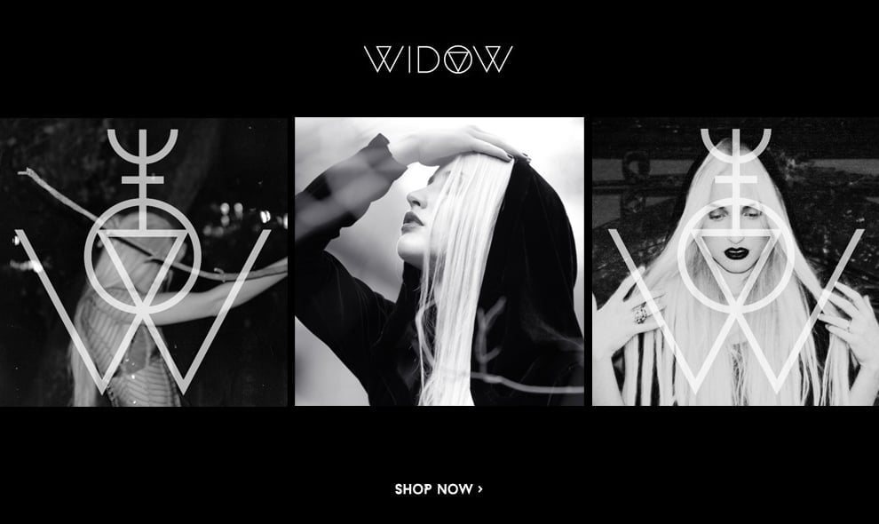 Shop New Widow Clothing!