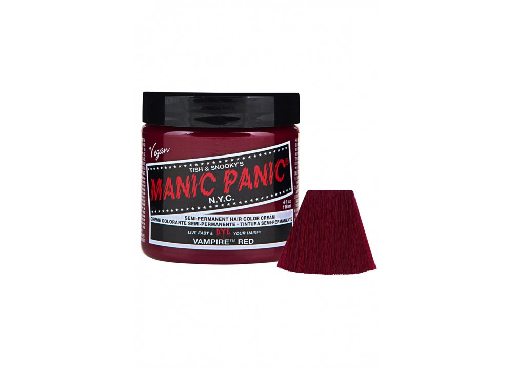 Vampire Red Semi-Permanent Hair Dye - Size: One Size