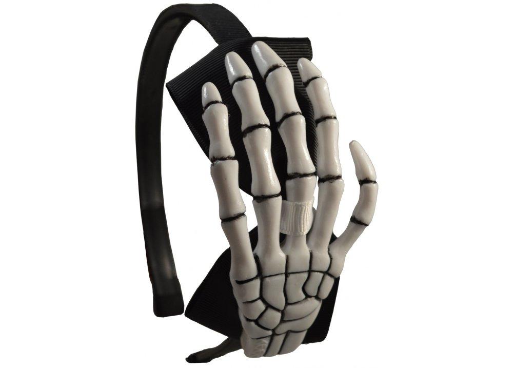 Skeleton Hand Alice Band  Size One Size