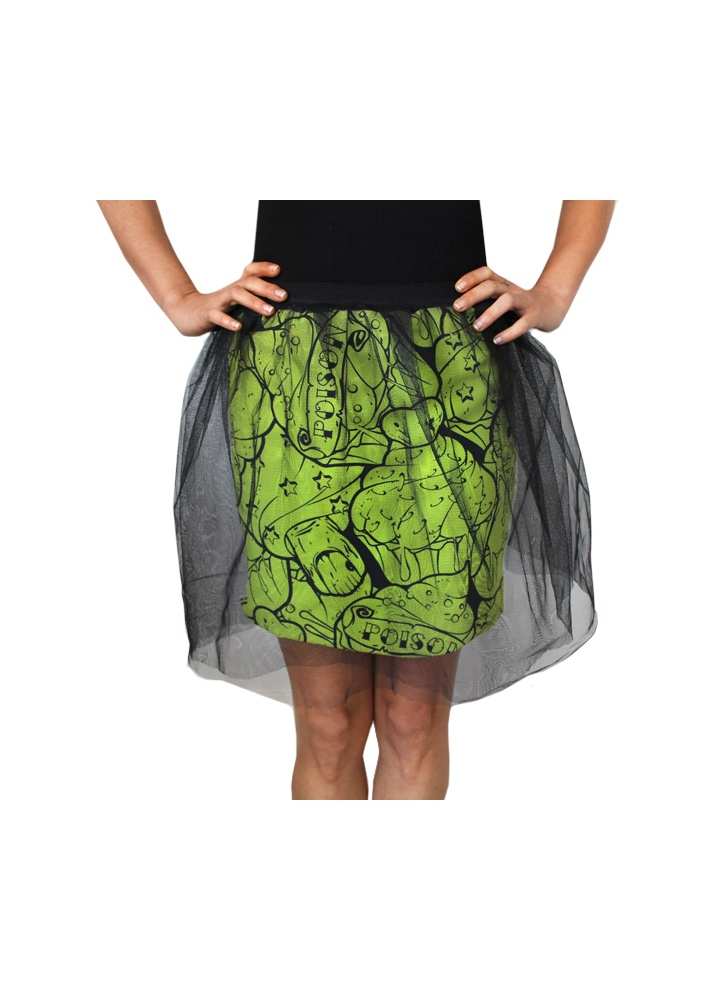 Poison Cupcake Tulle Skirt  Size S