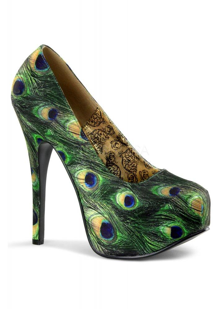 Teeze-06-5 Peacock Shoe - Size: UK 9