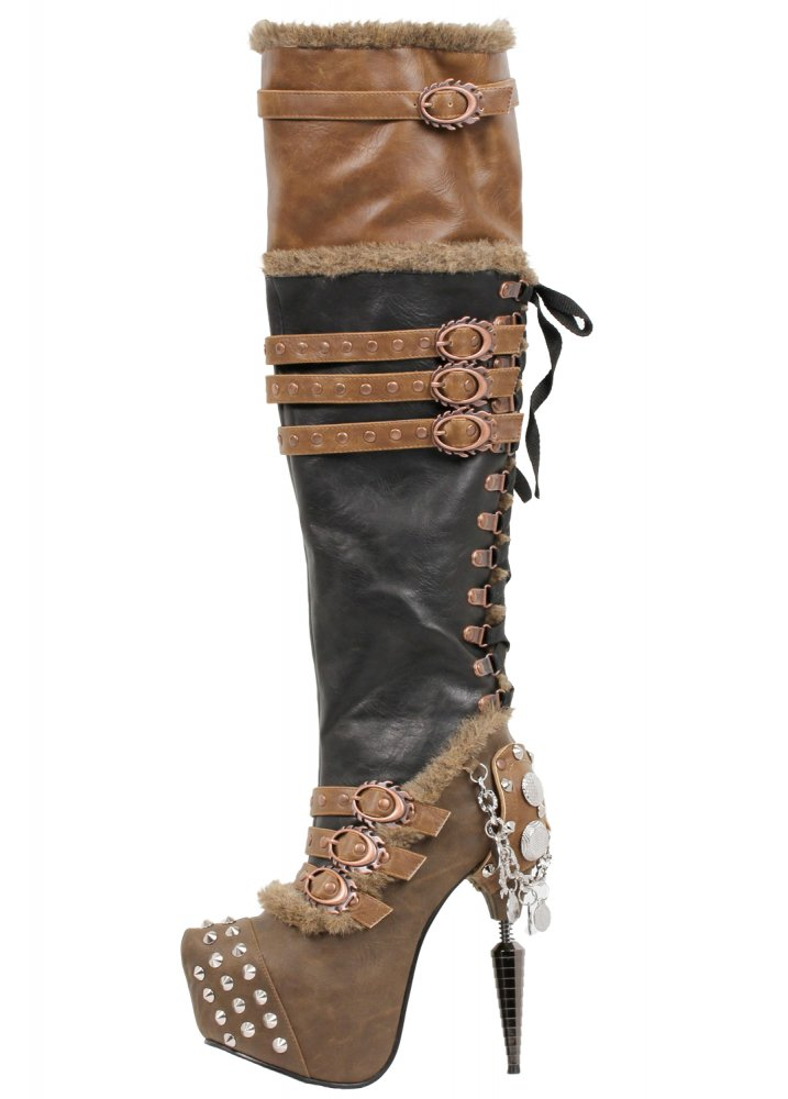 Ventail - Size: UK 5.5 steampunk buy now online