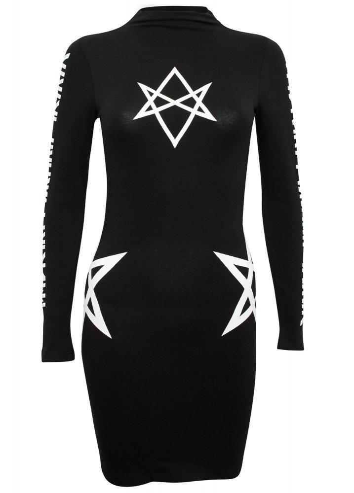 Hexagram Dress - Size: One Size