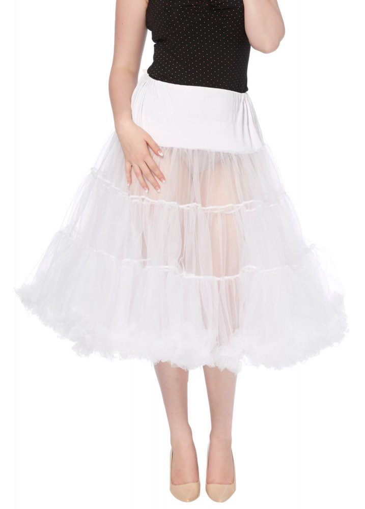 Froo Froo Petticoat White - Size: L/XL