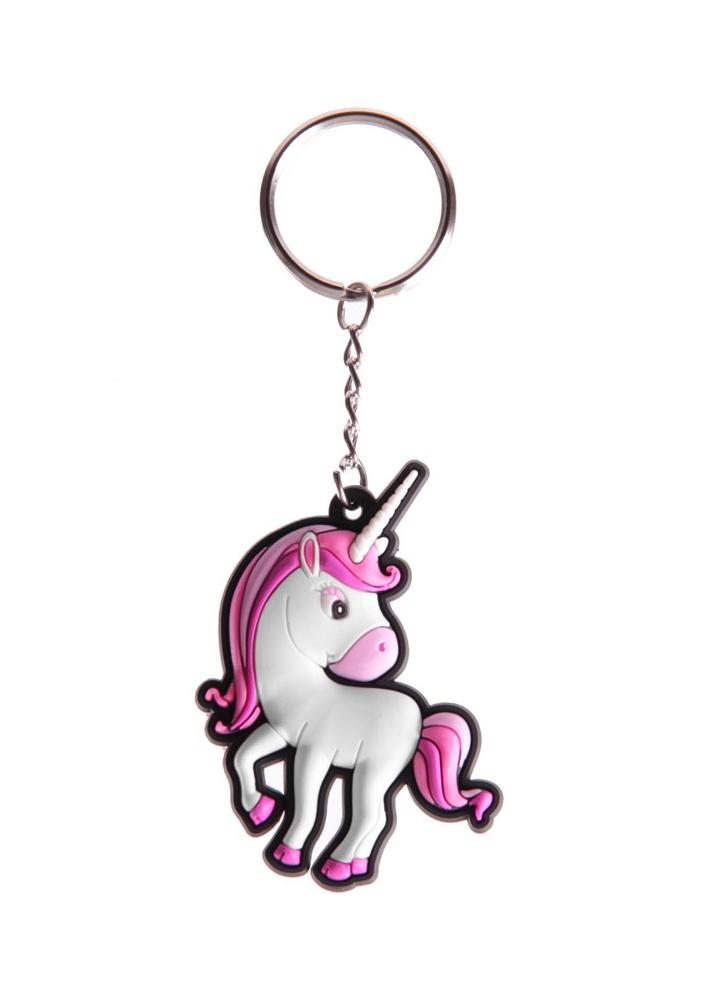 Fancy Dress Unicorn Keyring - Size: One Size