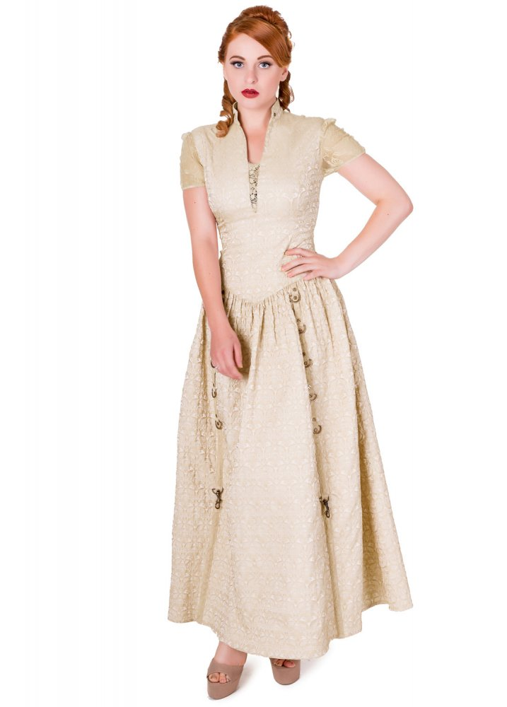Rise Of Dawn Maxi Dress - Size: XL steampunk buy now online