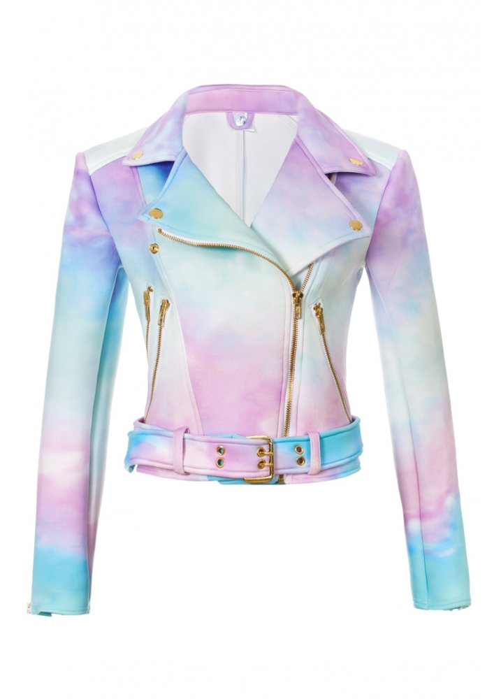 Ombre Moto Jacket - Size: S