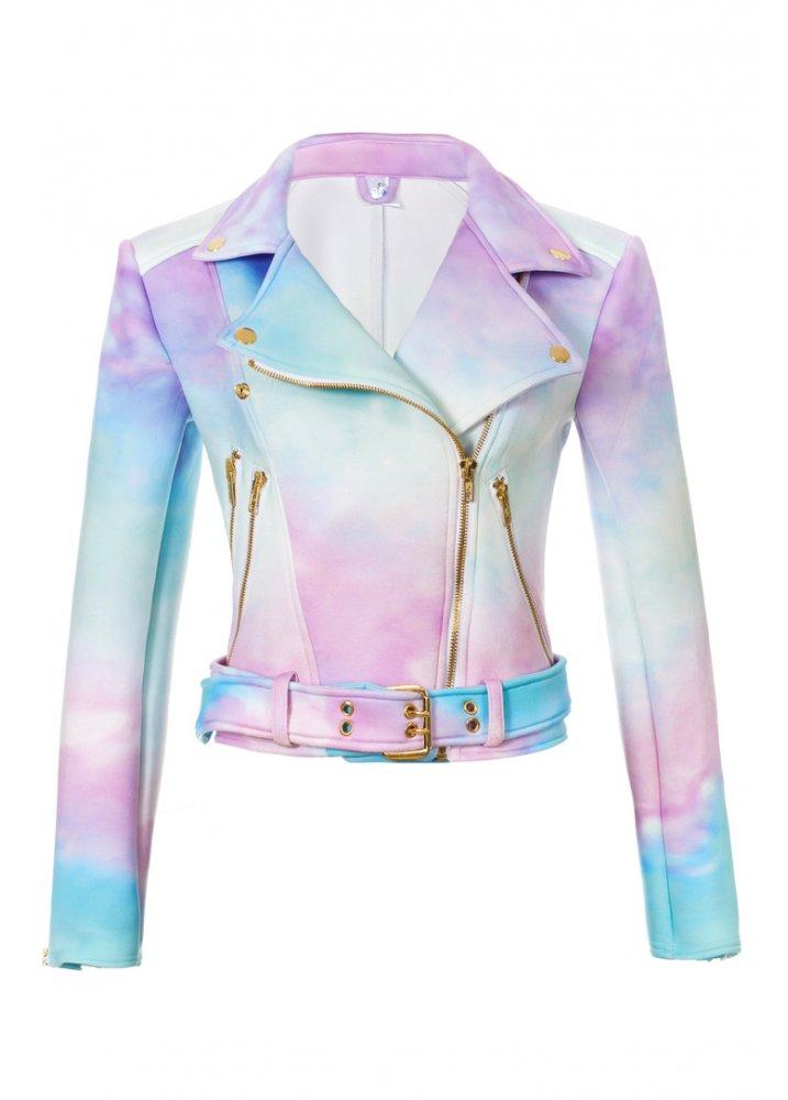Ombre Moto Jacket - Size: L