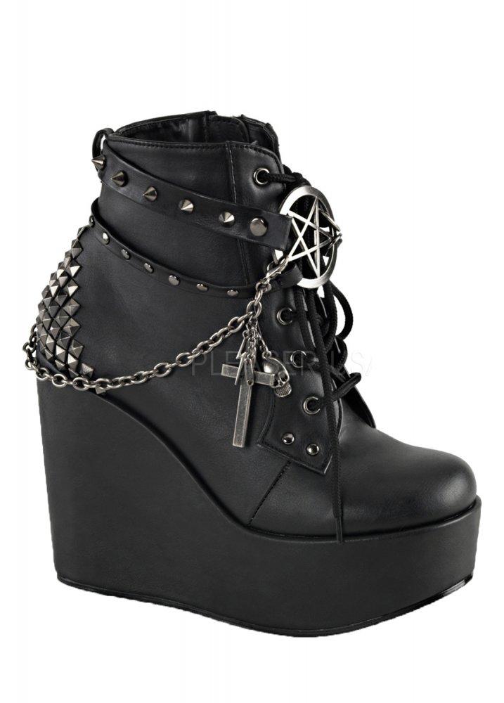 Poison 101 Wedge Boot  Size UK 3