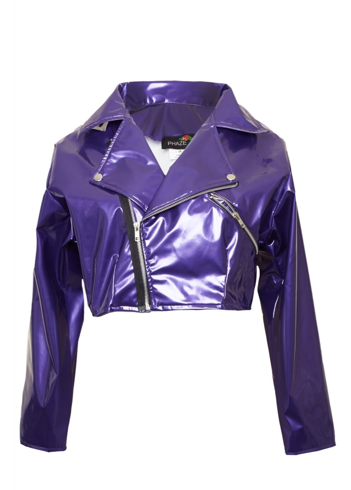 Purple Kandy Jacket - Size: Size 10