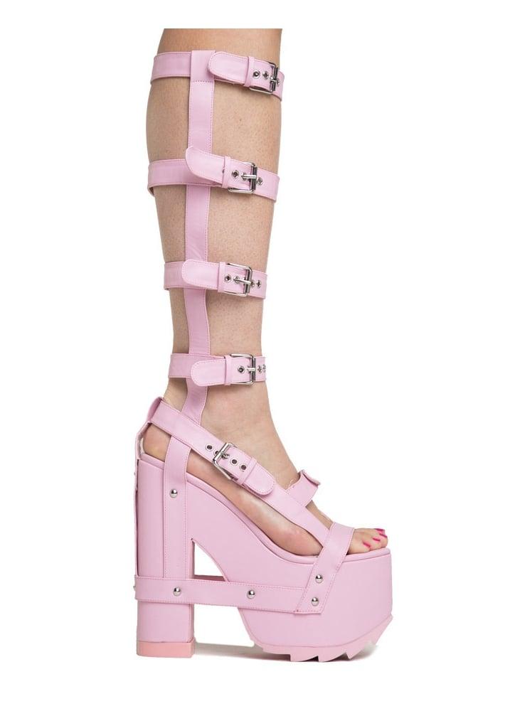 Nightcall Hi Pink  Size UK 4