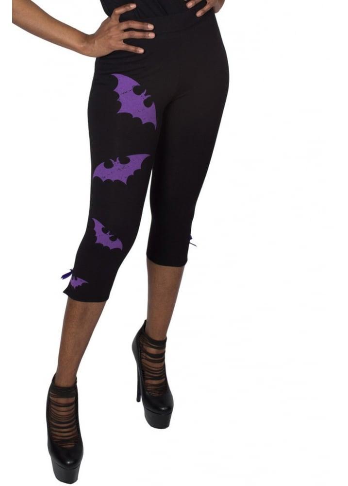 Bat-tastic Capri Pants - Size: L