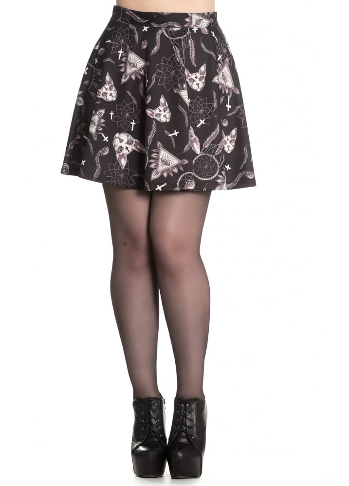 Arcane Mini Skirt - Size: L
