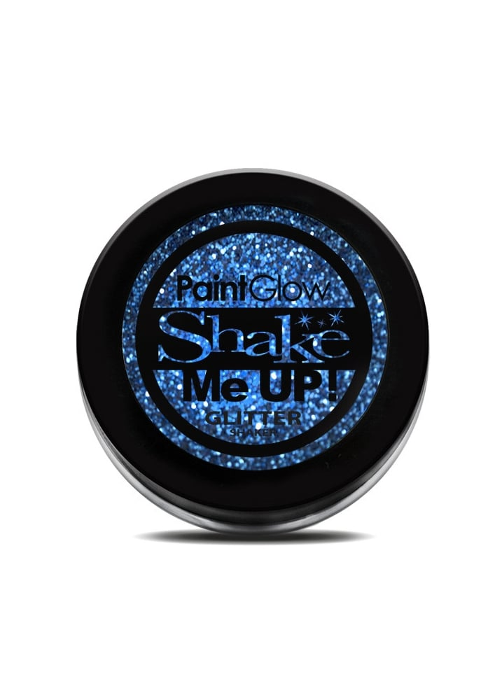 Blue Glitter Shaker - Colour: Blue