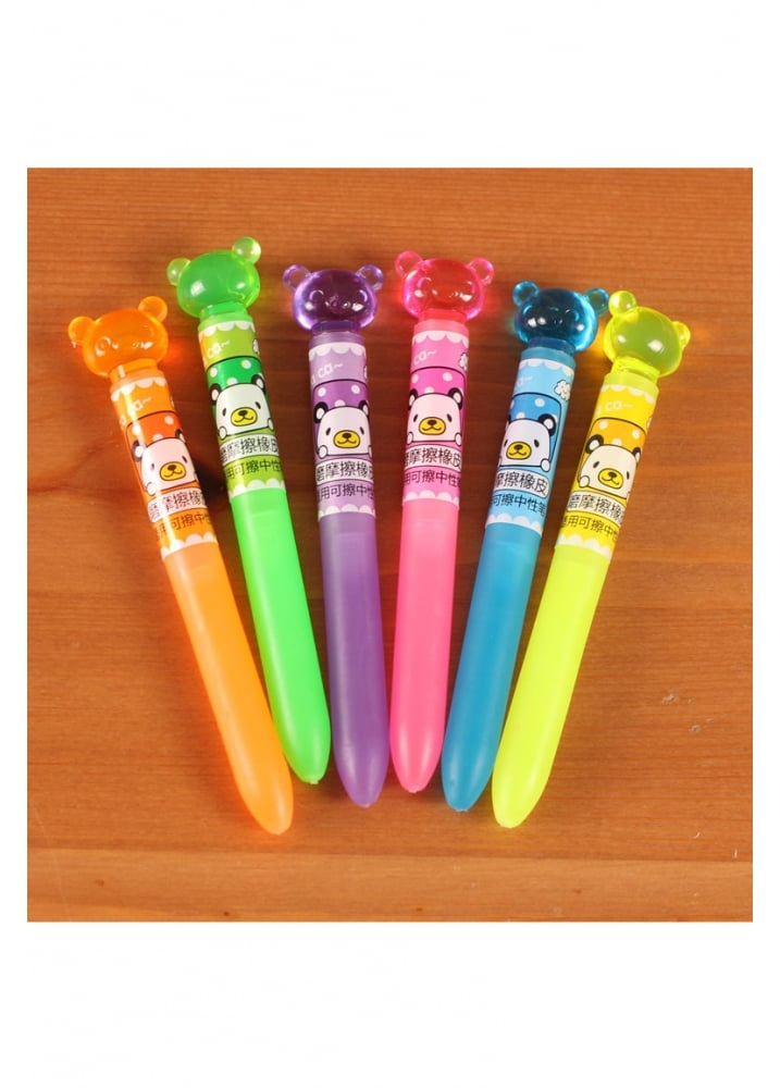 Kawaii Gel Pen Eraser  Colour Blue