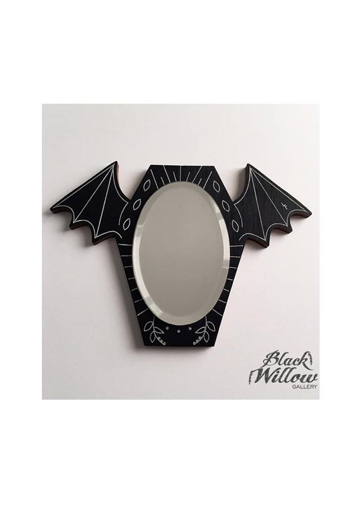 Bat Mirror - Colour: Black