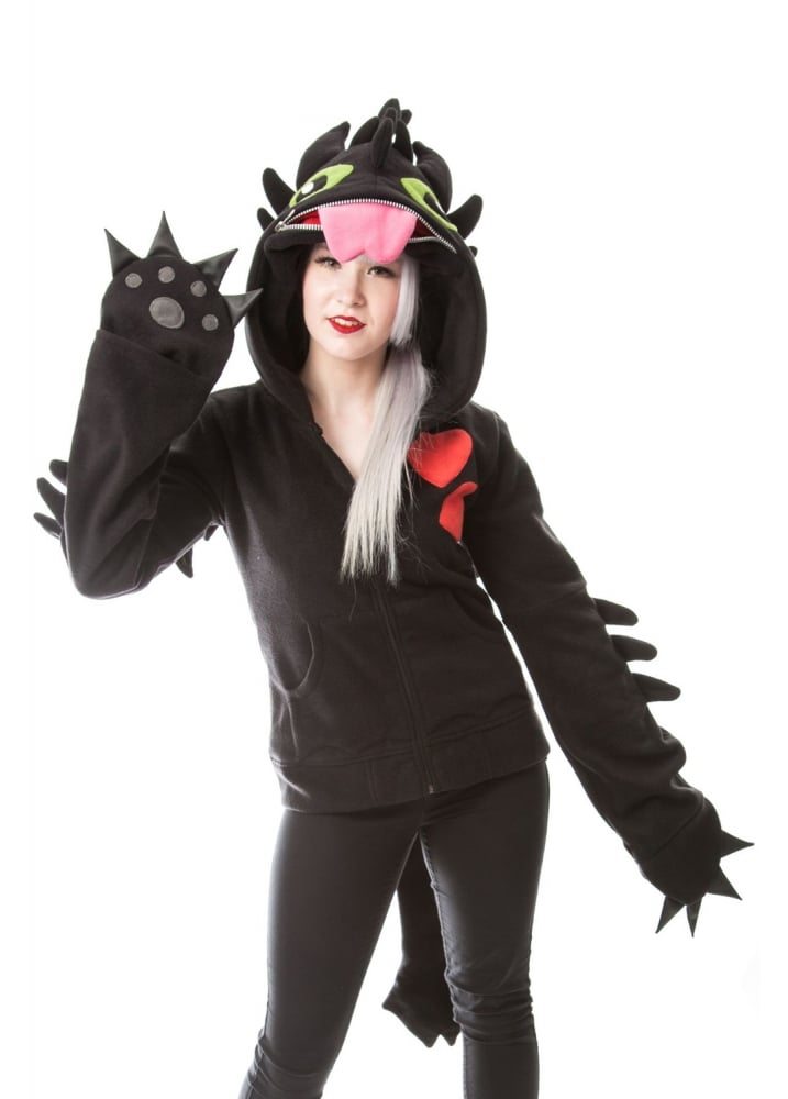 Dragon Cosplay Hood - Size: L