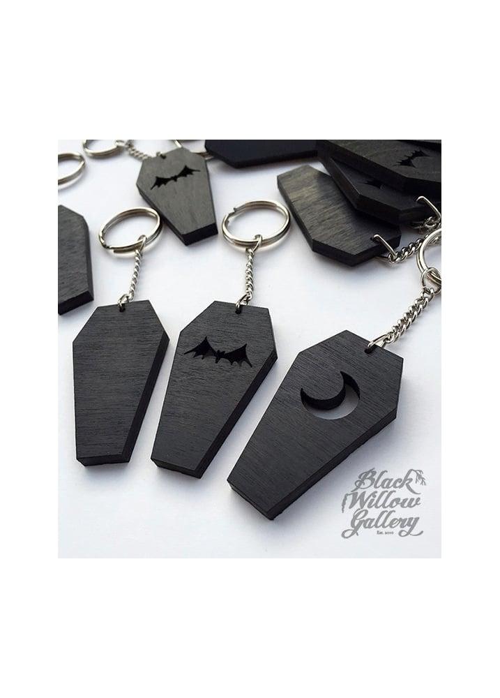 Coffin Keychain - Design: Bat