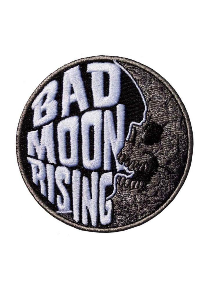 Bad Moon Rising Patch - Colour: Black