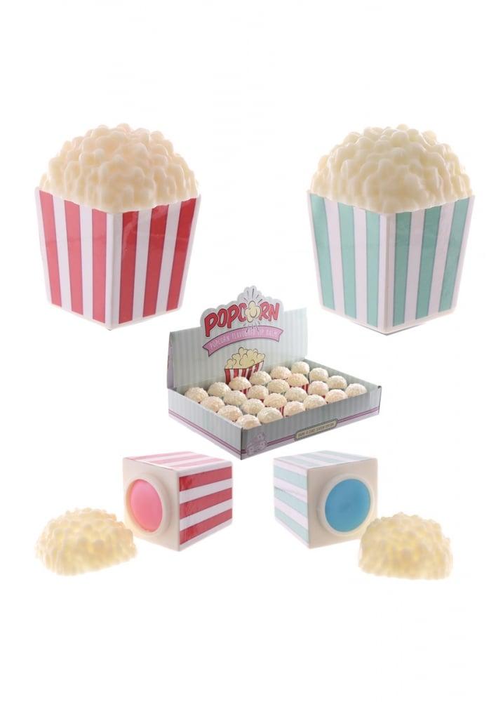 Popcorn Tub Lip Balm - Flavour: Blueberry