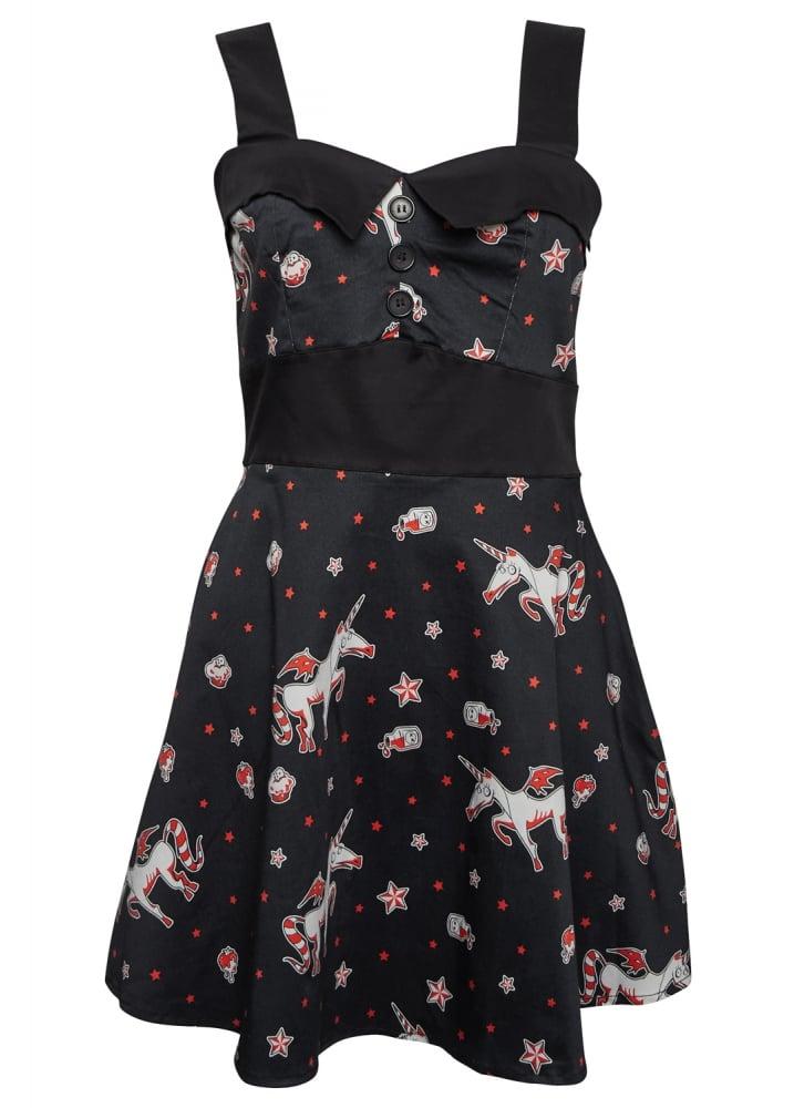 Amelia Gothicorn Dress - Size: L