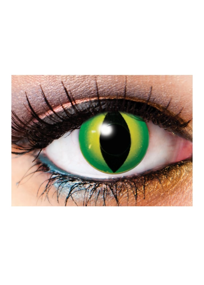 One Day Anaconda Cosmetic Lenses - Size: One Size