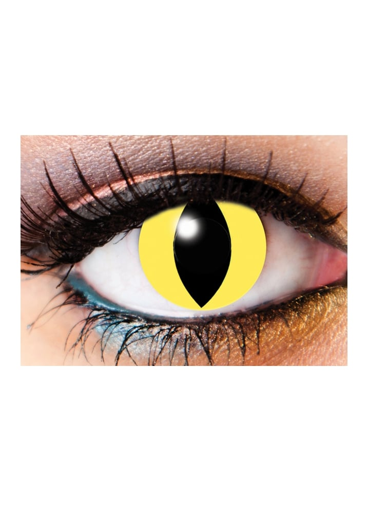 One Day Cat Eye Cosmetic Lenses - Size: One Size