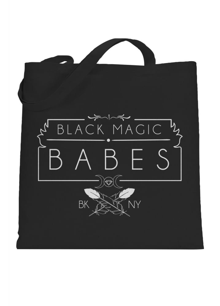 Black Magic Tote Bag - Colour: Black