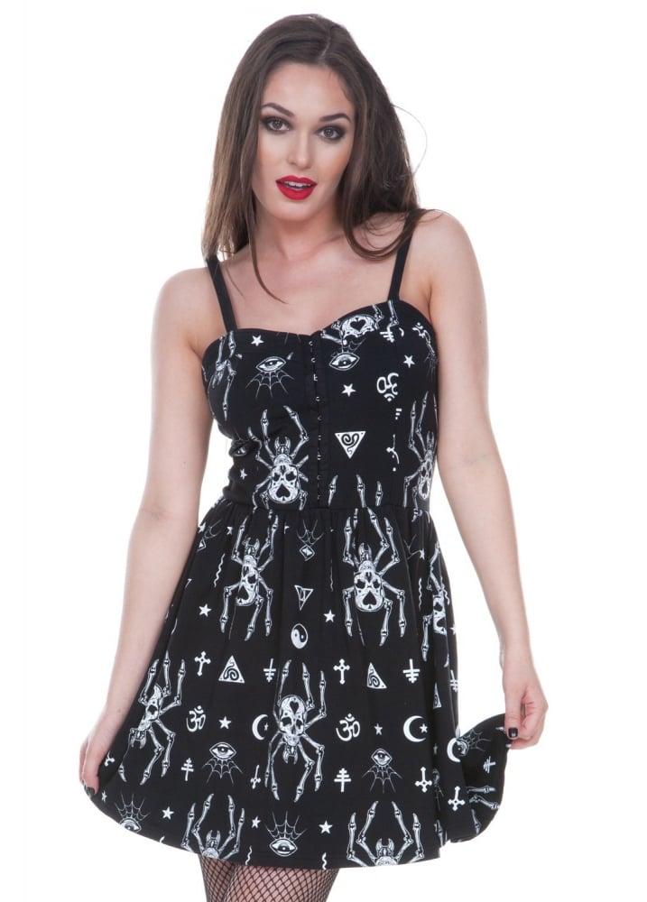Creepy Spider Dress - Size: L
