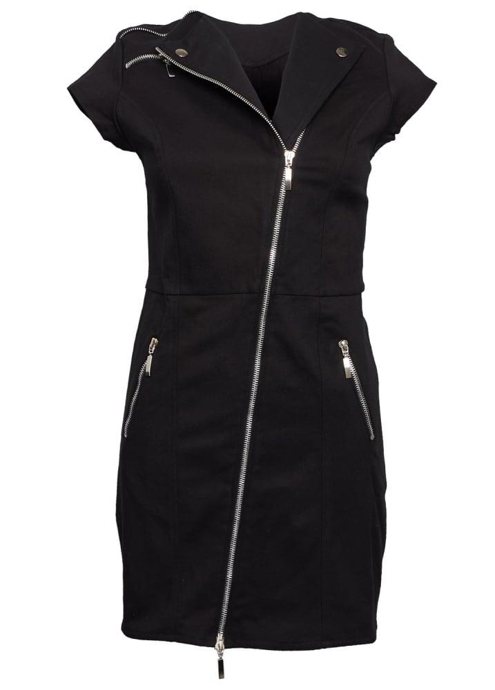 Abigail Biker Dress - Size: L