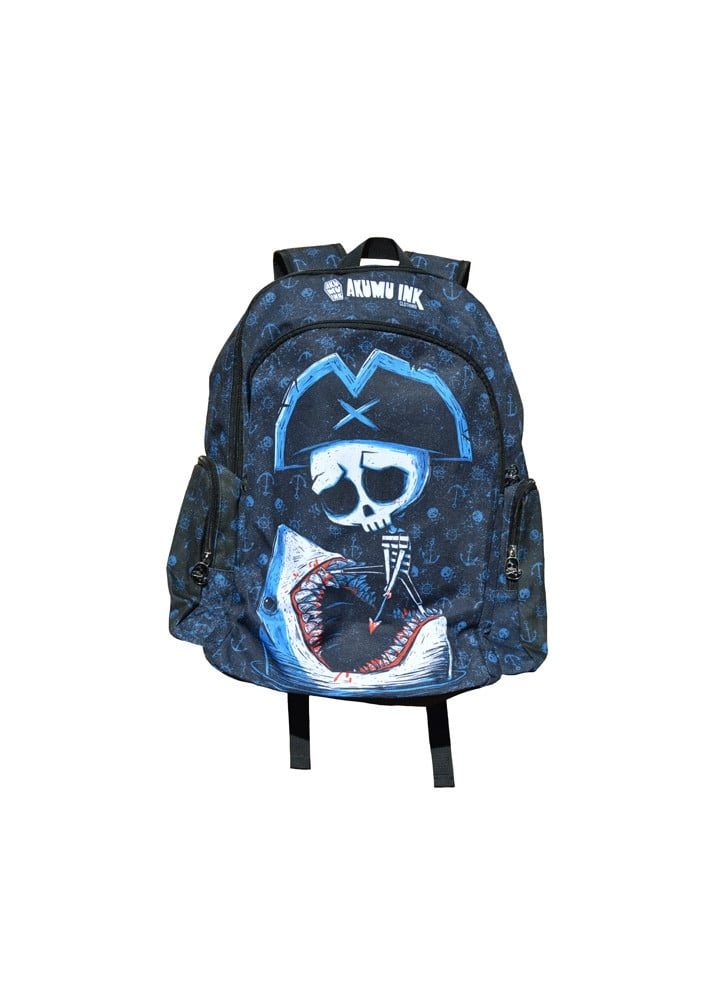 Battle To The Death Backpack - Colour: Black