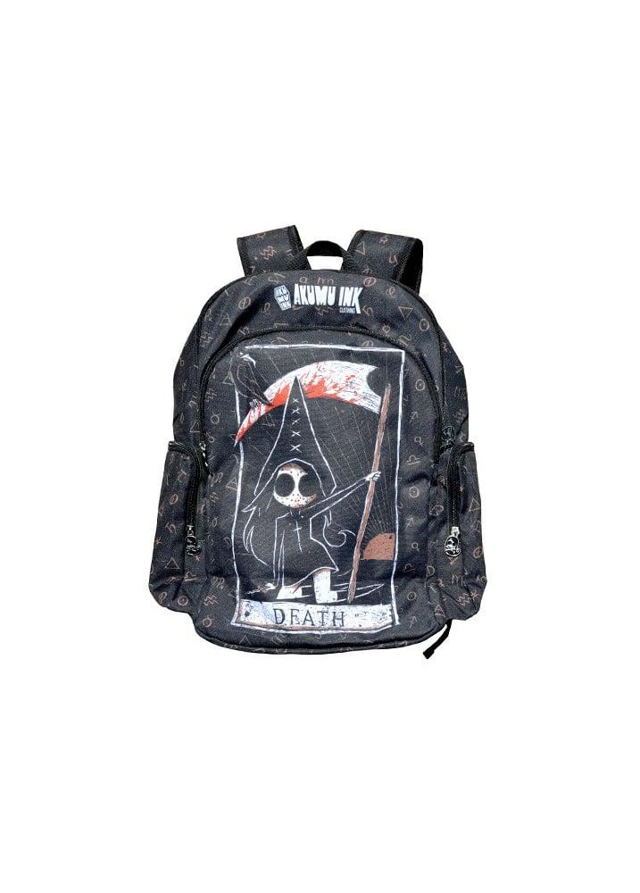 Death Card Backpack - Colour: Black