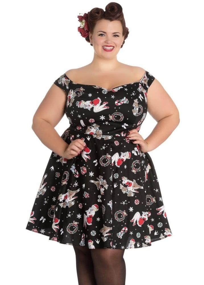 Blitzen Mini Plus Dress - Size: Size 18