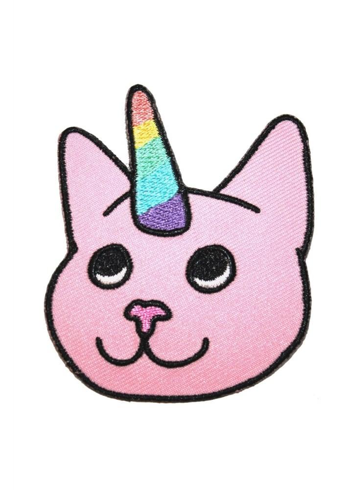 Cat Unicorn Patch - Colour: Pink