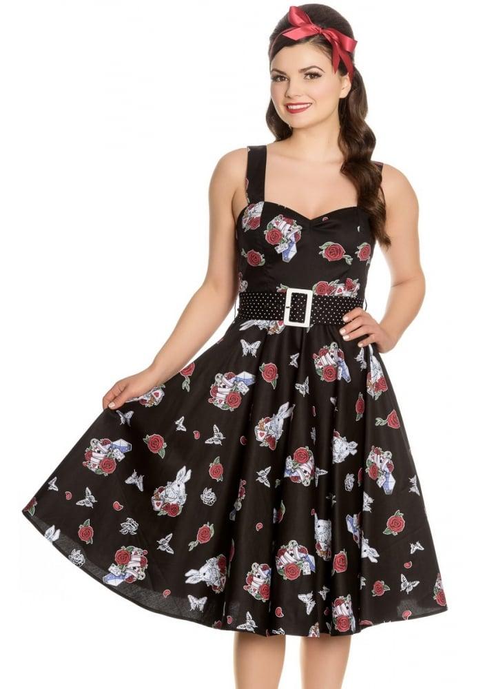 Drink Me 50s Dress  Size Size 16