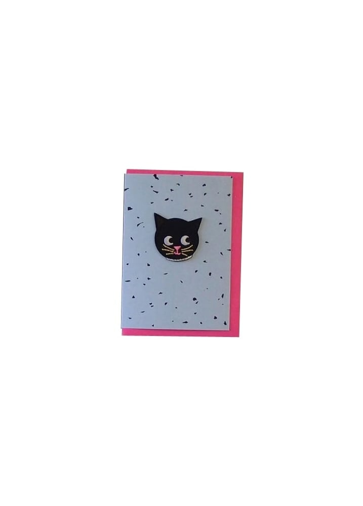Image of Cat Patch Card