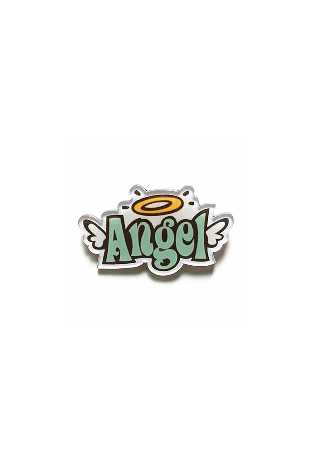 Angel Harajuku Acrylic Pin Badge