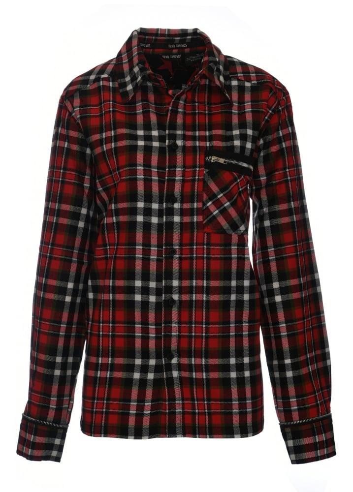 Tartan Flannel Shirt  Size M