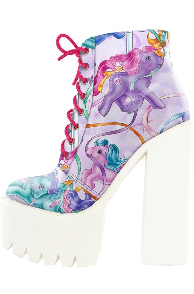 Iron Fist My Little Pony Merry Go Round Bootie