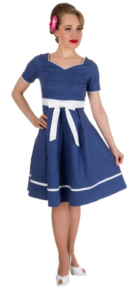 DOLLY AND DOTTY JOSEPHINE TWO TONED DRESS