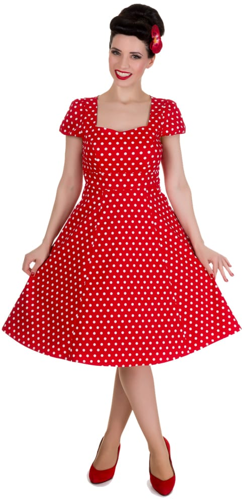DOLLY AND DOTTY CLAUDIA FLIRTY DRESS
