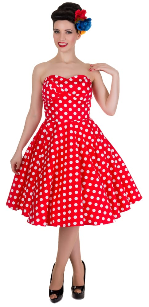 DOLLY AND DOTTY MELISSA BANDEAU PARTY DRESS