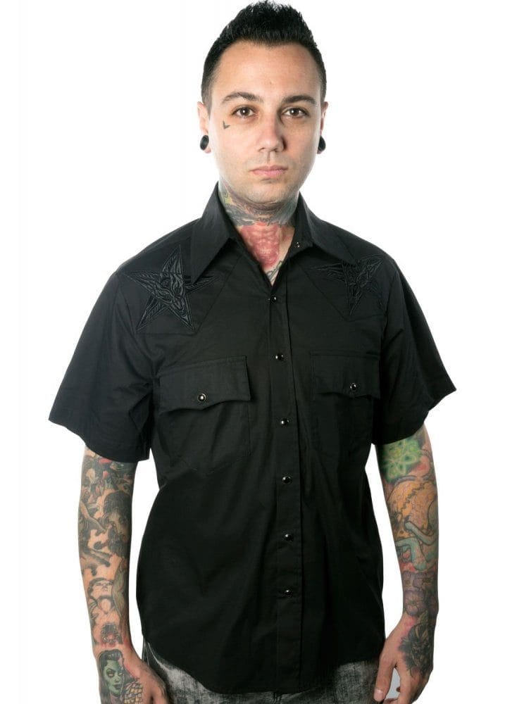 Rockabilly Short Sleeved Shirt