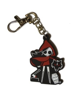 Dead Riding Hood Keyring