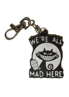 We're All Mad Here Keyring