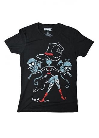 Akumu Ink Wicked Witch of the West T-Shirt