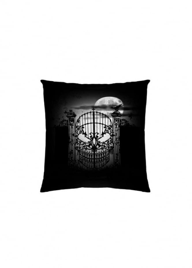 Alchemy Gothic Abandon No Hope Cushion Cover