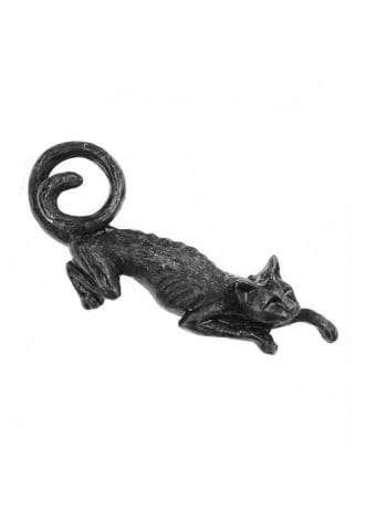 Alchemy Gothic Cat Sith Hair Slide