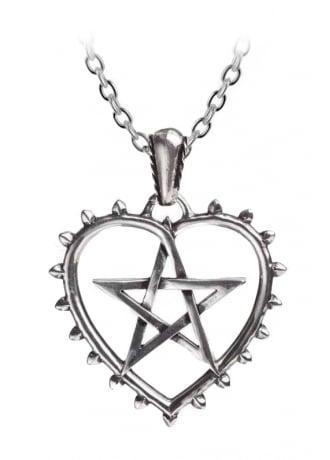 Alchemy Gothic Cunning Heart Pendant
