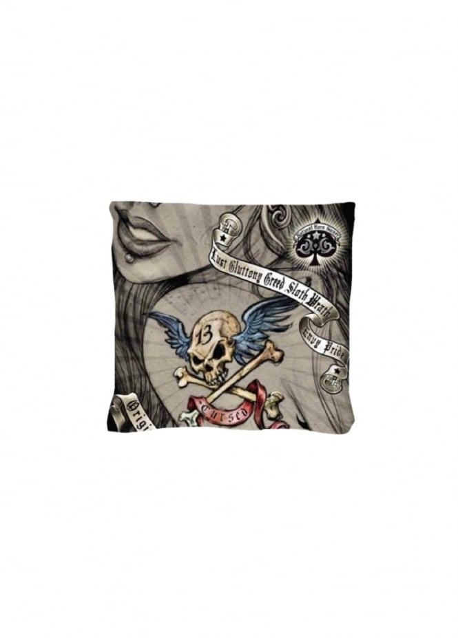 Alchemy Gothic Cursed Cushion Cover